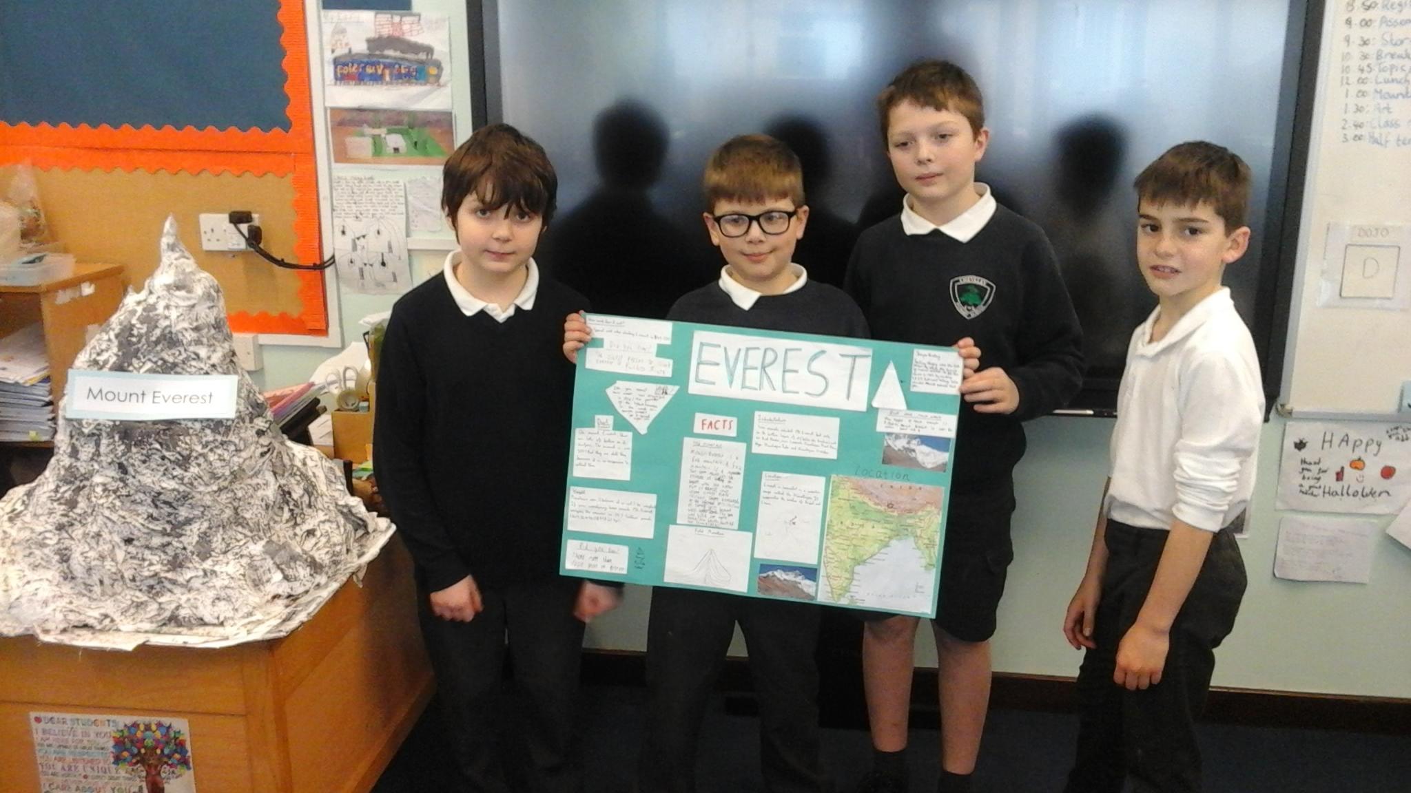 Cheveley School Class Information